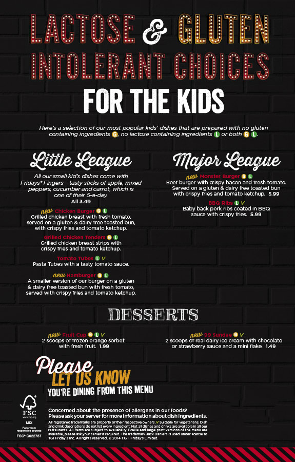 Children's - Lactose- and Gluten-Free Kid's Options