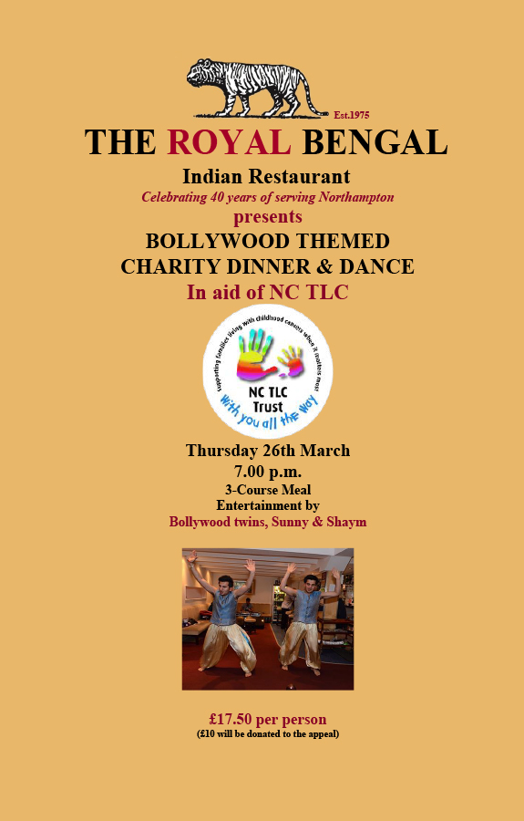 Events bollywood charity dinner dance 26th for Arman bengal cuisine dinas menu