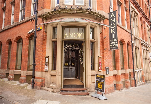 Anoki (Nottingham) Restaurant Nottingham