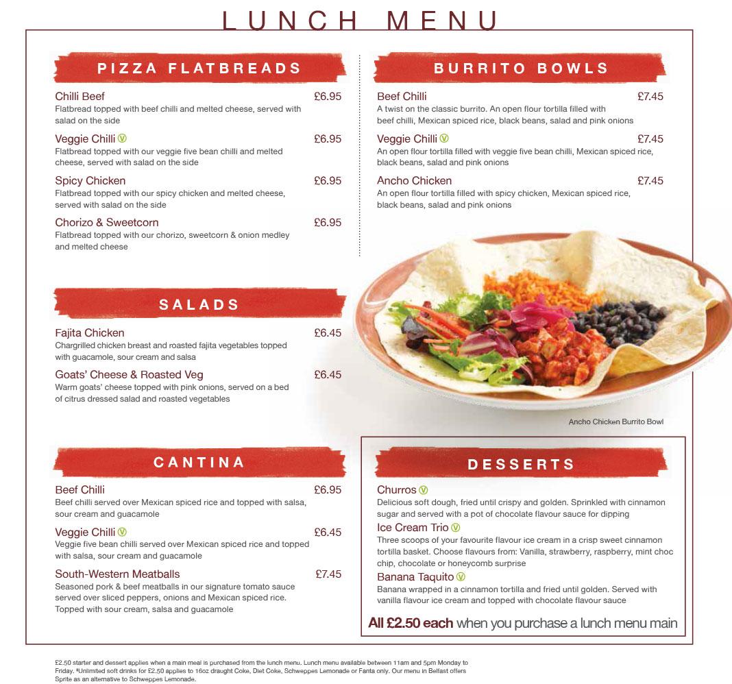 Healthy Restaurant Menu Starters