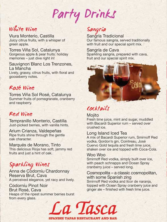 Valentines menu nottingham
