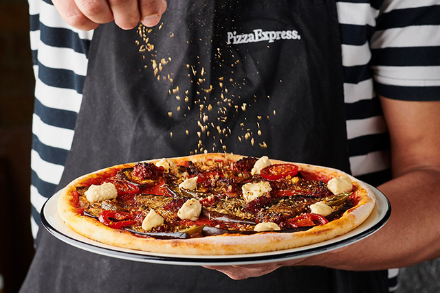 Pizza Express Sheffield Devonshire Street Menu Photos