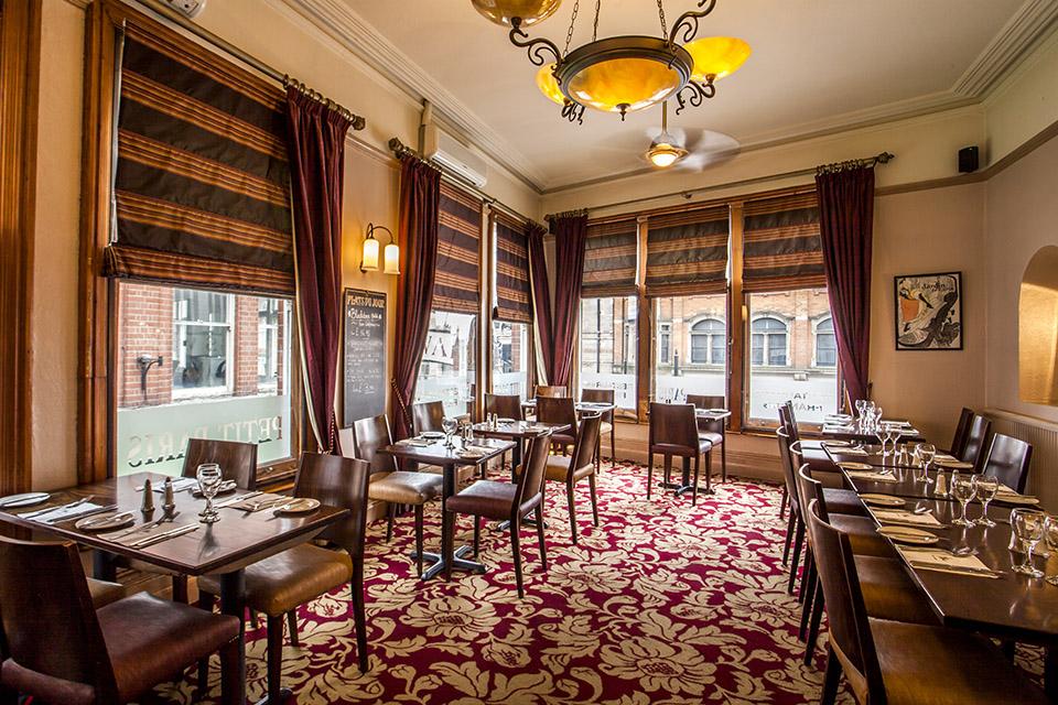 Petit Paris Restaurant Nottingham