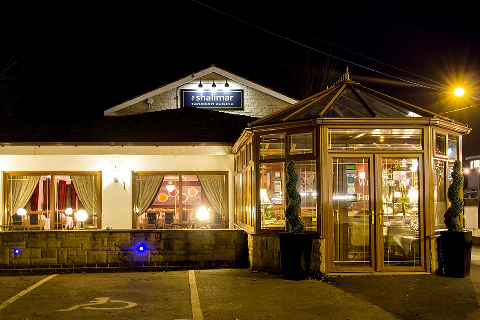 Shalimar Restaurant Darley Dale Menu