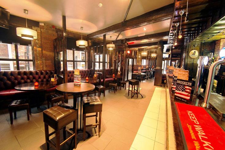 Brooklyn Bar New York Burger Kitchen Leeds