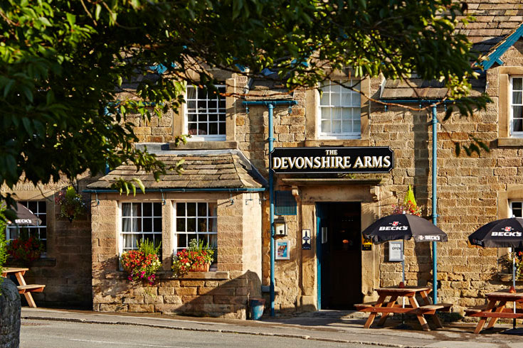 The Devonshire Arms Pilsley Menus Reviews And Offers