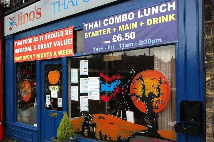 Jino S Thai Cafe Headingley Menu