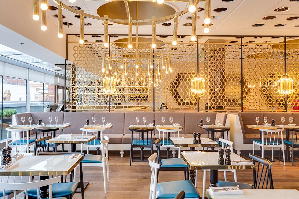 Harvey Nichols Fourth Floor Cafe Leeds Menus Reviews