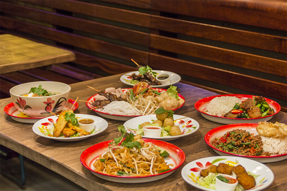 Zaap Thai Street Food Nottingham