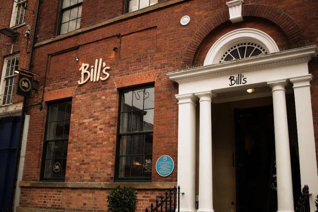 Bill S Restaurant Leeds Menu