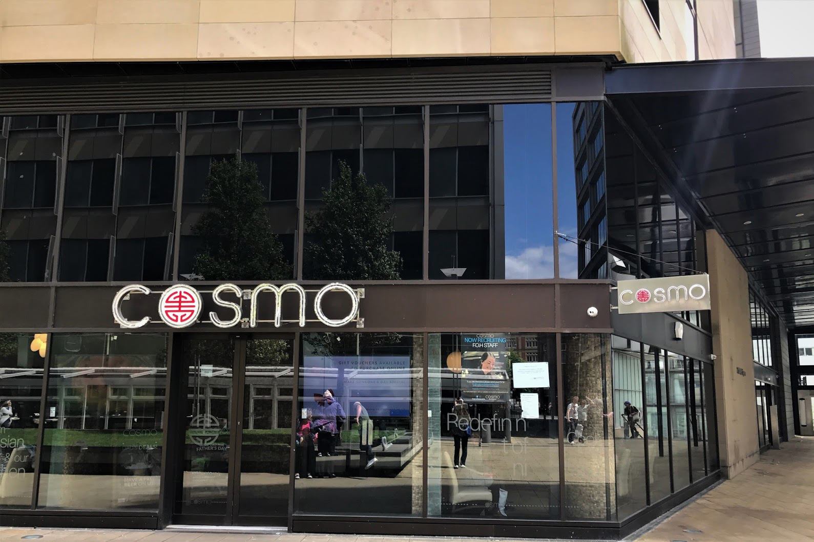 Cosmo Sheffield Menu Photos And Information By Go Dine