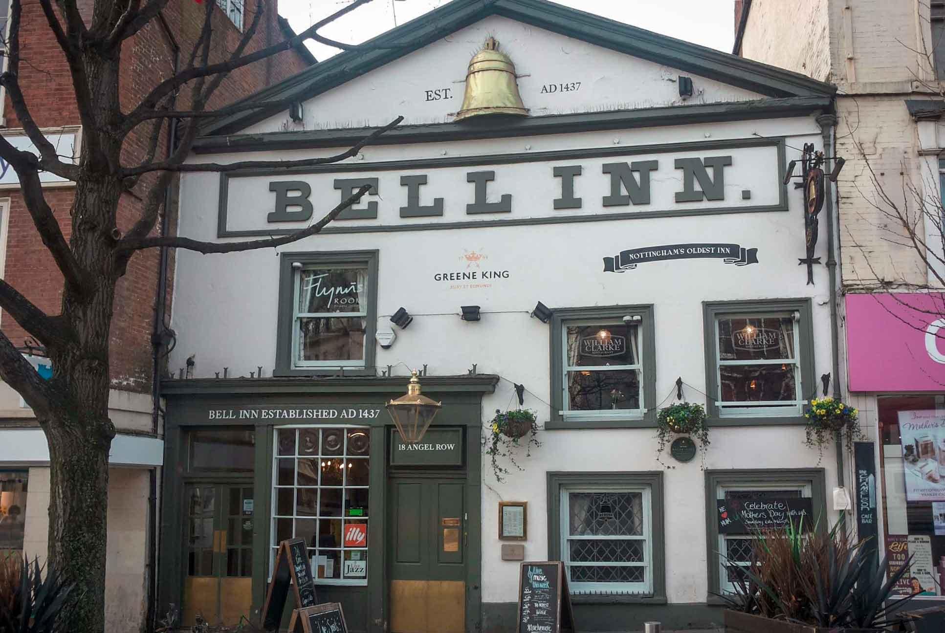 The Bell Inn Nottingham Menus By Go Dine
