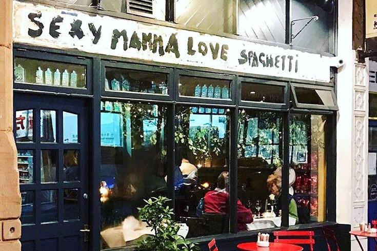 Sexy Mamma Love Spaghetti Nottingham Menus By Go Dine
