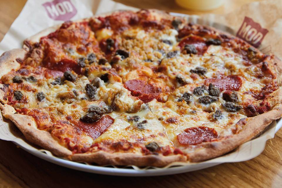 Mod Pizza Nottingham Menu Photos And Information By Go Dine