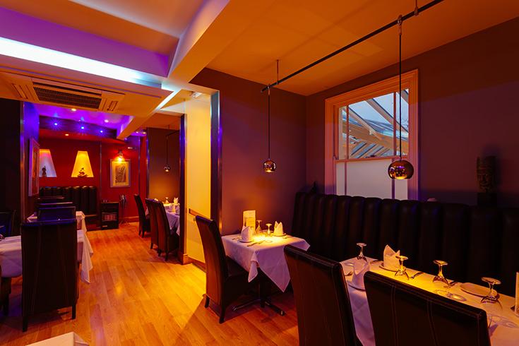 The voujon stamford reviews by go dine for Fish restaurant stamford