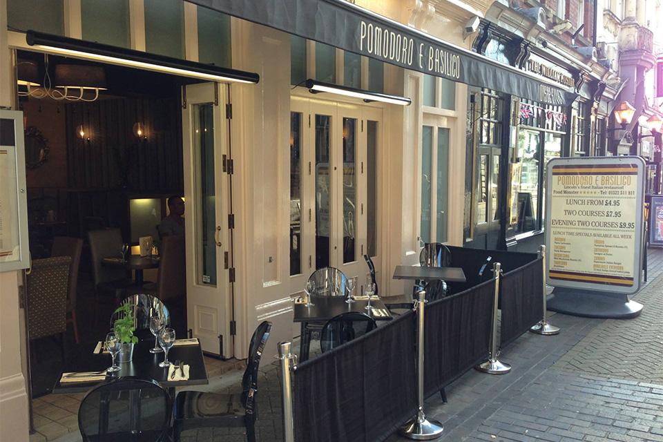 Italian Restaurant Guildhall Street Lincoln