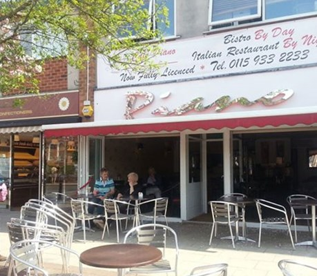 Greek Restaurant Radcliffe Road