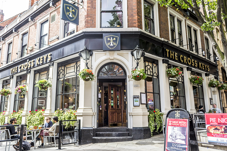 The Cross Keys Nottingham Menus Reviews And Offers By