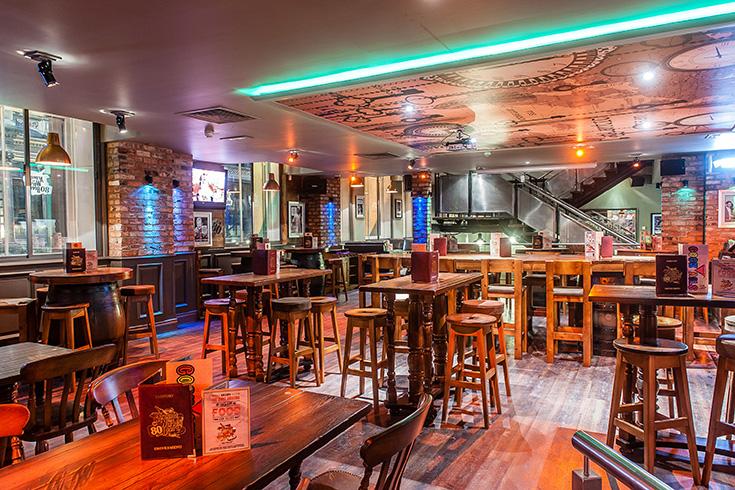 Grand Foyer Bar Allphones Arena : Around the world leeds menus and reviews by go dine