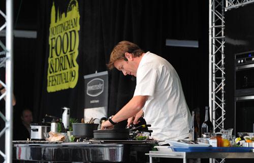 nottingham 39 s first food festival a success. Black Bedroom Furniture Sets. Home Design Ideas