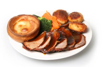 British Cuisine The Sunday Roast