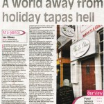 Les Olives in Northampton Receives Rave Review