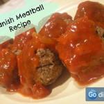 Recipe for Spanish Meatballs in Tomato Sauce