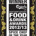 Saffron Wins 'Spice Chef of the Year' Award!