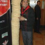 Northampton Restaurant Builds Highest Ever Poppadom Tower