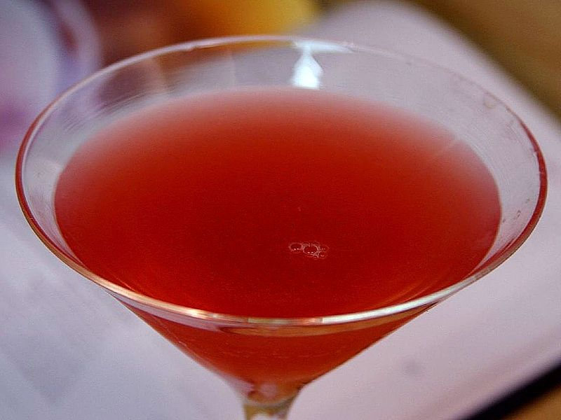 Easy cosmo drink