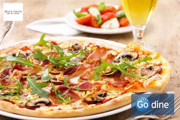Book your graduation meal at Bella Italia