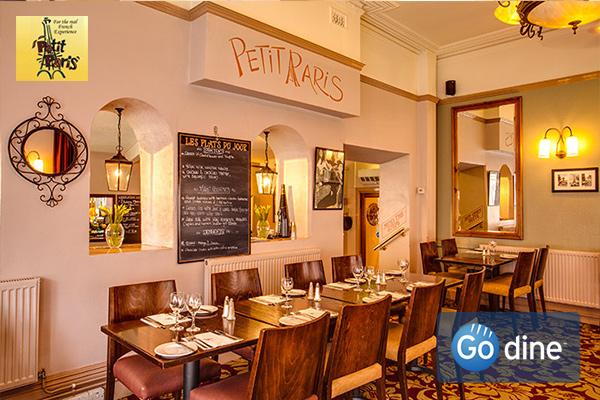 Book a cosy graduation meal at Petit Paris Nottingham