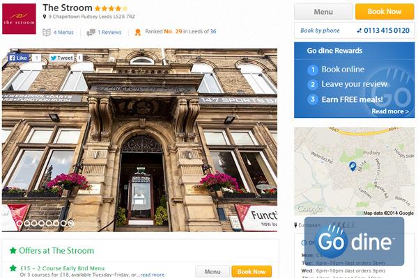 Generate more bookings online through marketing