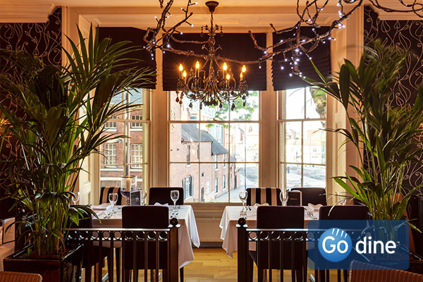 romantic restaurants in Derby meal out