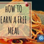 How To Earn Free Meals on Go dine