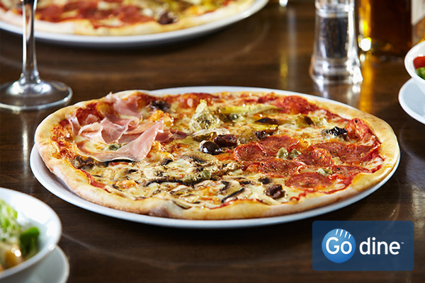 Learn more about the history of pizza through Go dine