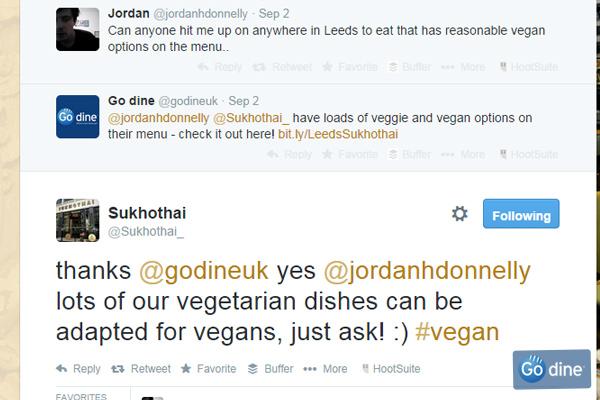 Leeds vegetarian restaurants