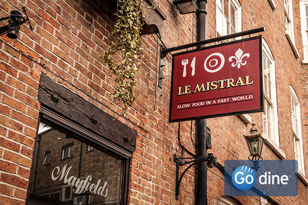 Book your meal at Le Mistral in Nottingham