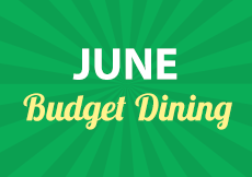 View June Budget Dining offers near you